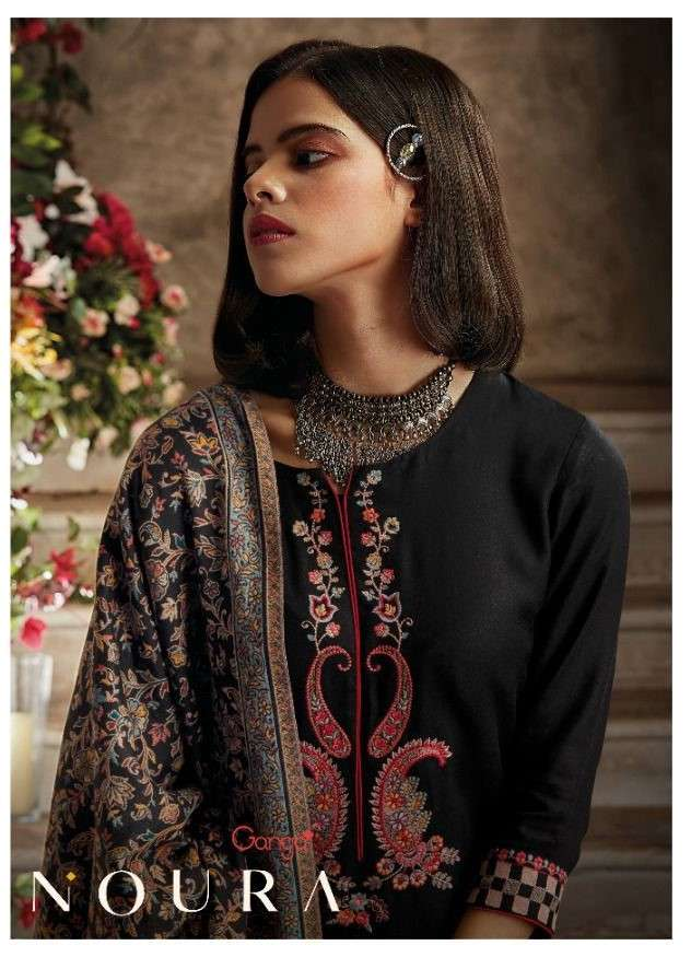 Ganga Fashion Noura Exclusive Pashmina Winter Wear New Branded Collection