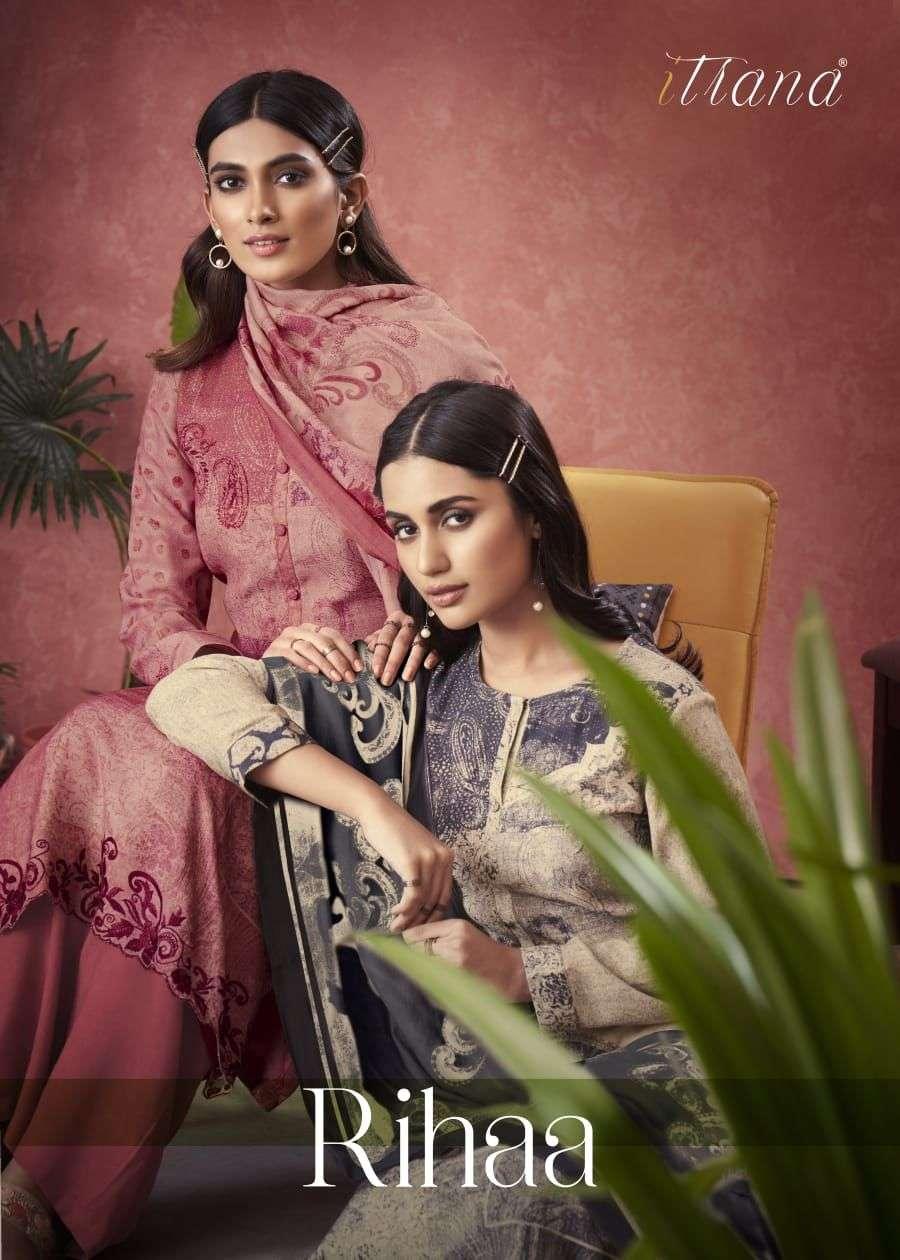 Itrana Rihaa Exclusive Winter Wear Salwar Kameez 2021 Collection