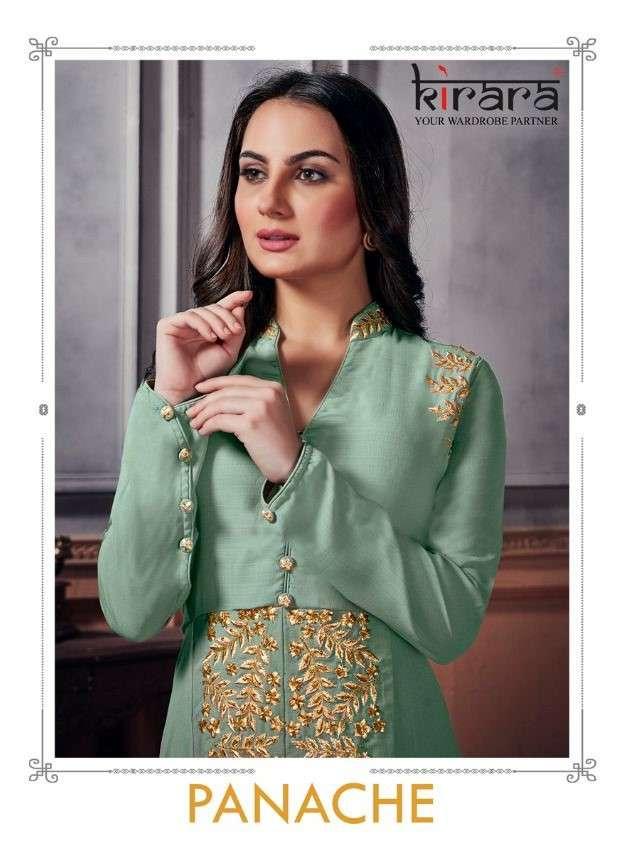 Kirara Panche Exclusive Designer Kurti Gown Catalog Wholesale price