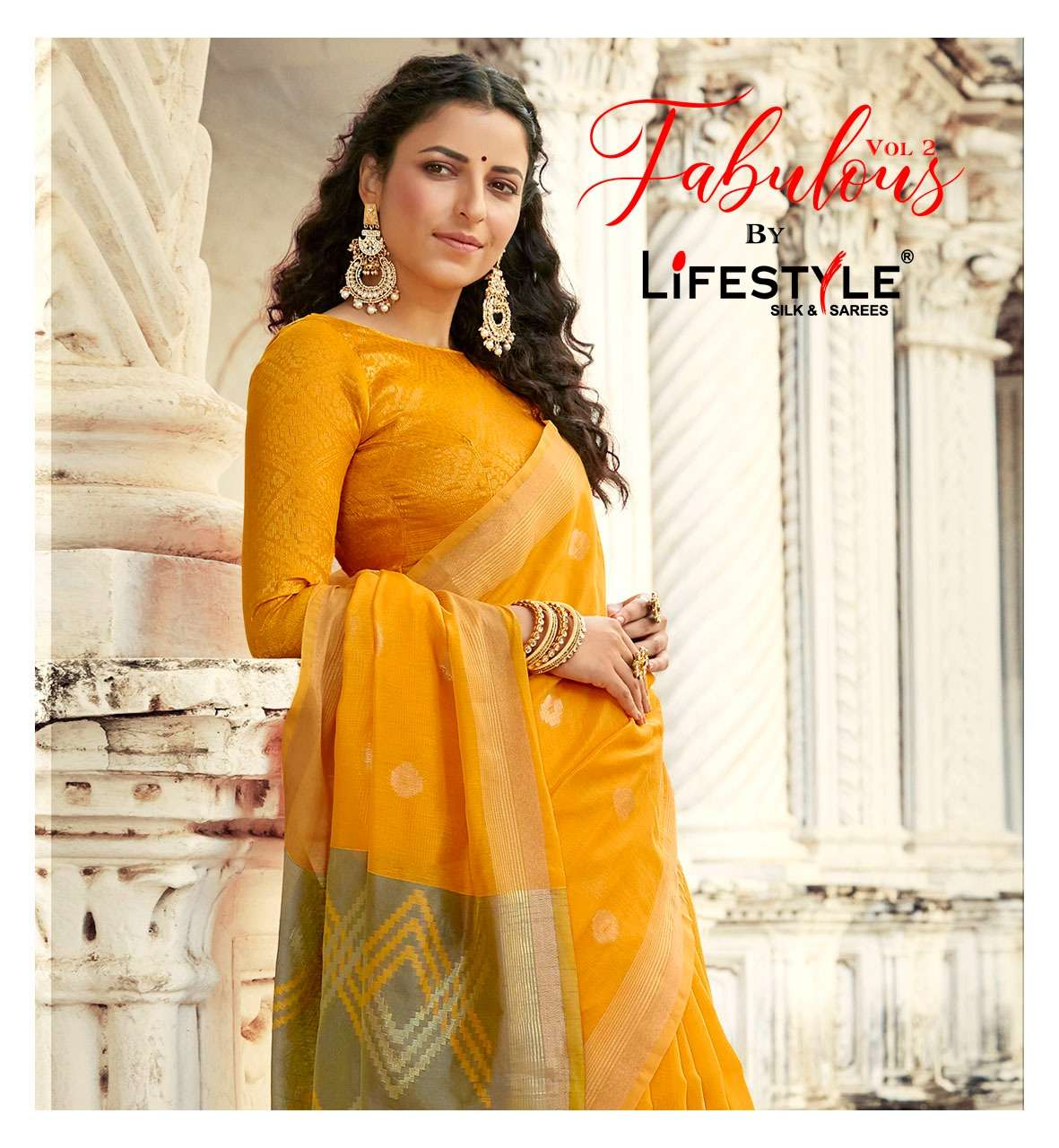 Lifestyle Fabulous Vol 2 Chanderi Silk Rich Pallu Saree Catalog Wholesaler