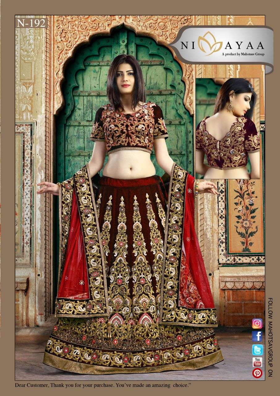 Mahotsav Nimaya Exclusive bridal Lehenga Catalog Wholesaler