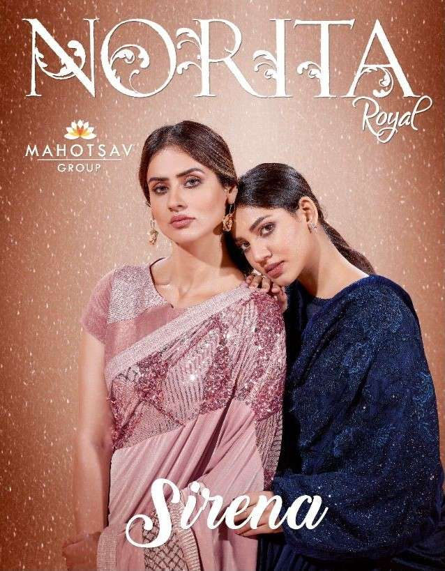 Mahotsav Norita Sirena 41300 Series Exclusive Designer Party Wear Saree catalog Wholesaler