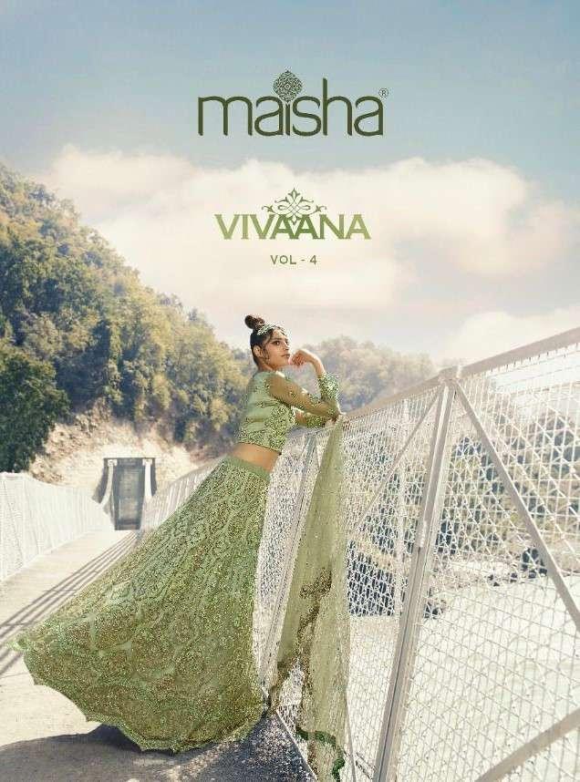 Maisha Vivana Vol 4 Designer Exclusive Lehenga Choli Catalog Wholesale Supplier