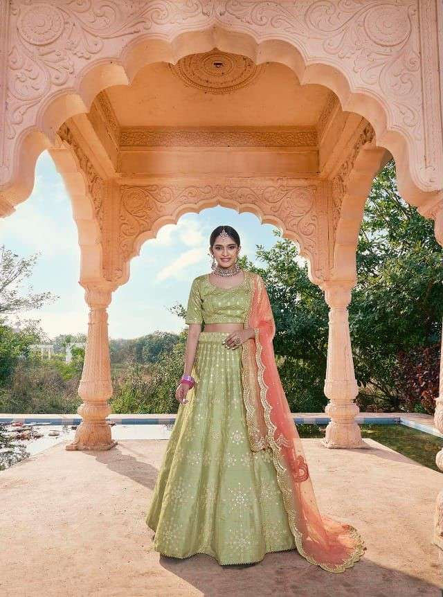 Nakkashi Kasak Exclusive Designer Lehenga Choli festive Wear Collection