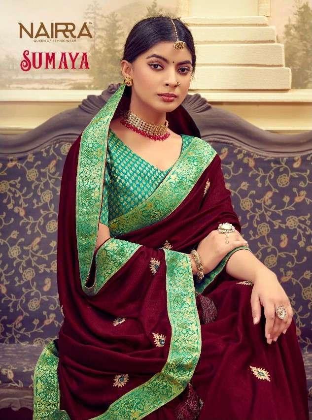 Nakkashi Nairra Sumaya Exclusive Butti Work Silk Saree Catalog Buy Online