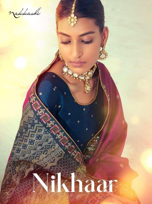 Nakkashi Nikhar Exclusive Designer Silk Saree New Collection 2021