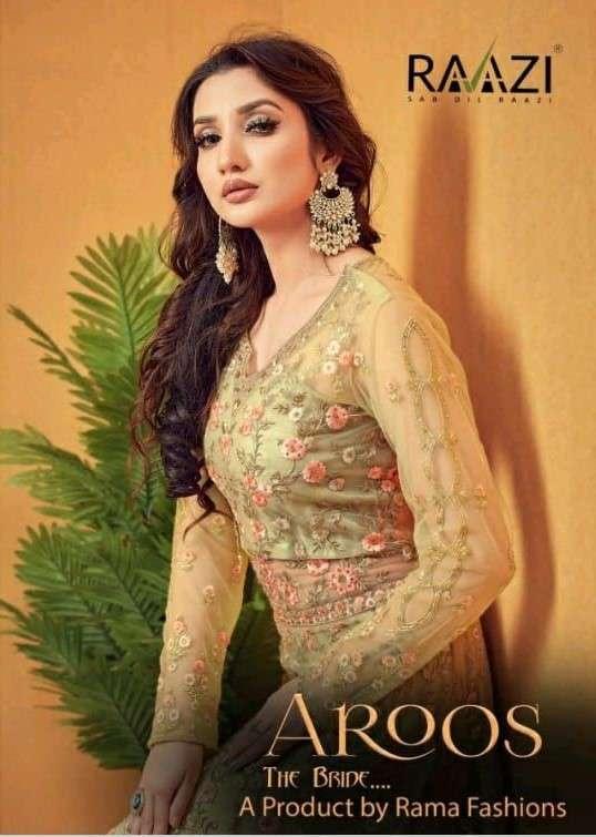 Rama Fashion Raazi Aroos The Bride 10054 to 10057 Series Designer Dress Collection