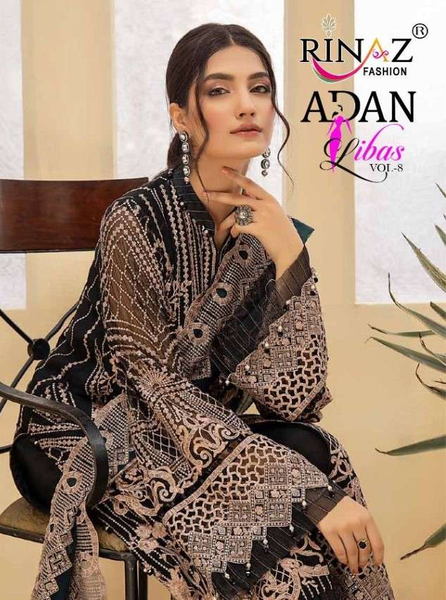 Rinaz Fashion Adan Libas Vol 8 Designer Pakistani Suit Catalog Dealer