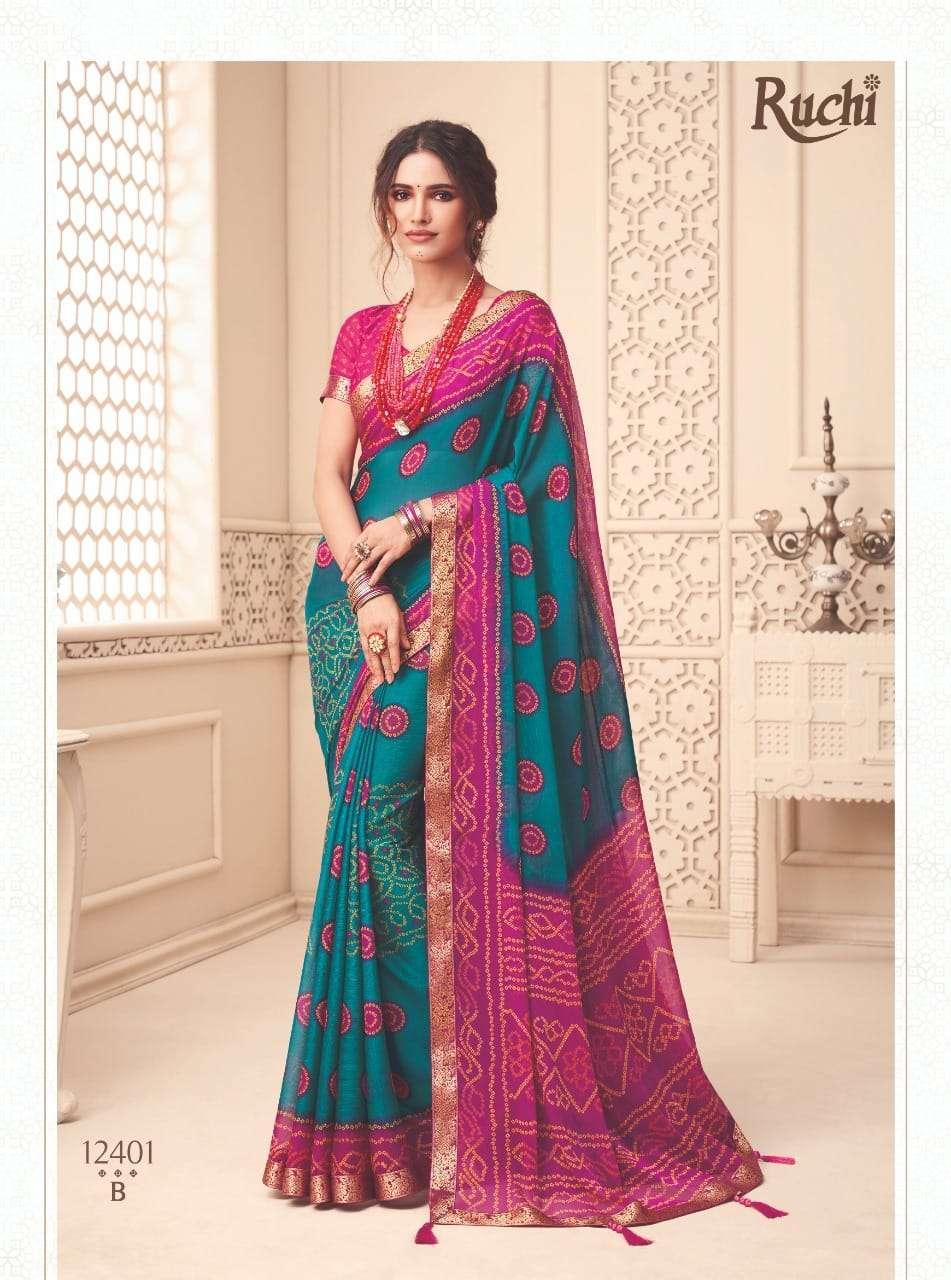 Ruchi Saree Jalpari 2nd Edition Printed Saree catalog Wholesale Dealer