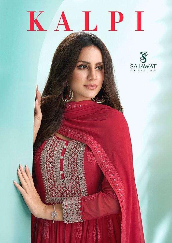 Sajawat Kalpi Vol 1 Exclusive Readymade Anarkali Kurti Bottom Dupatta Set Collection