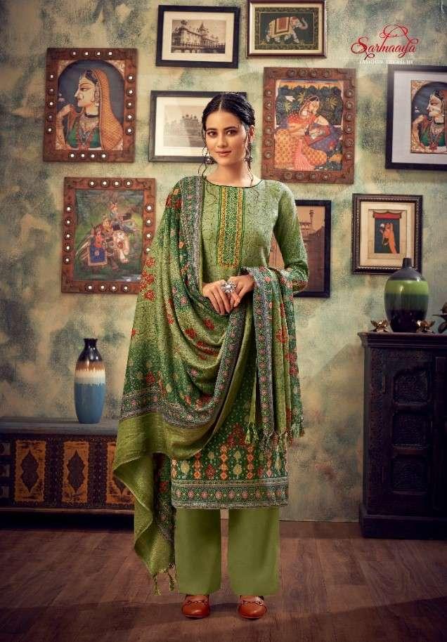 Sarmaaya Noori Exclusive Pashmina Salwar Kameez Catalog Wholesale Price