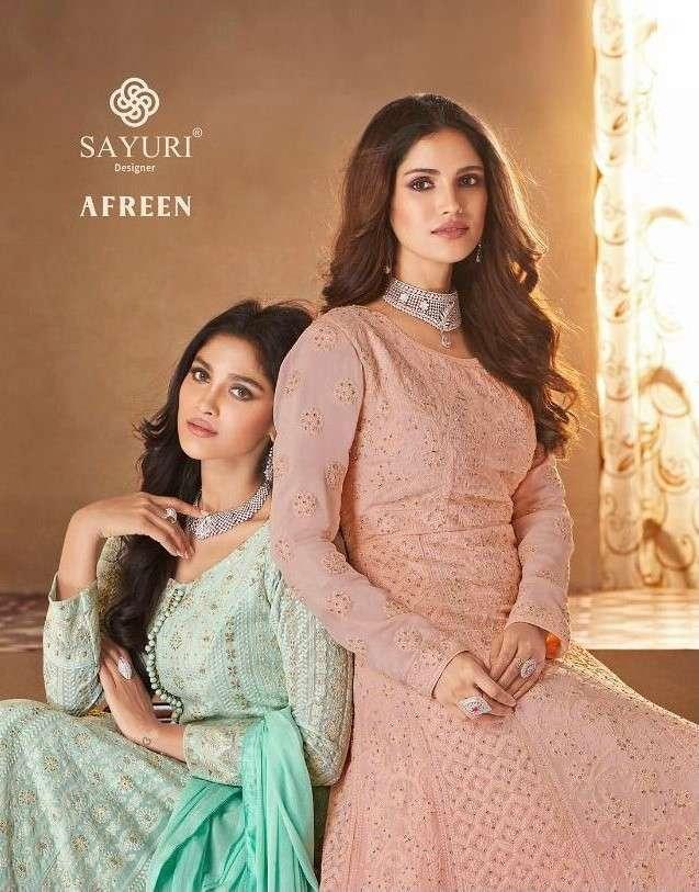 Sayuri Afreen Designer Readymade Anarkali Dress New Catalog Wholesaler