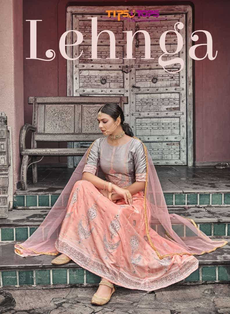 Tips and Tops Lehnga Exclusive Readymade Ethnic Wear Lehenga Choli New Collection