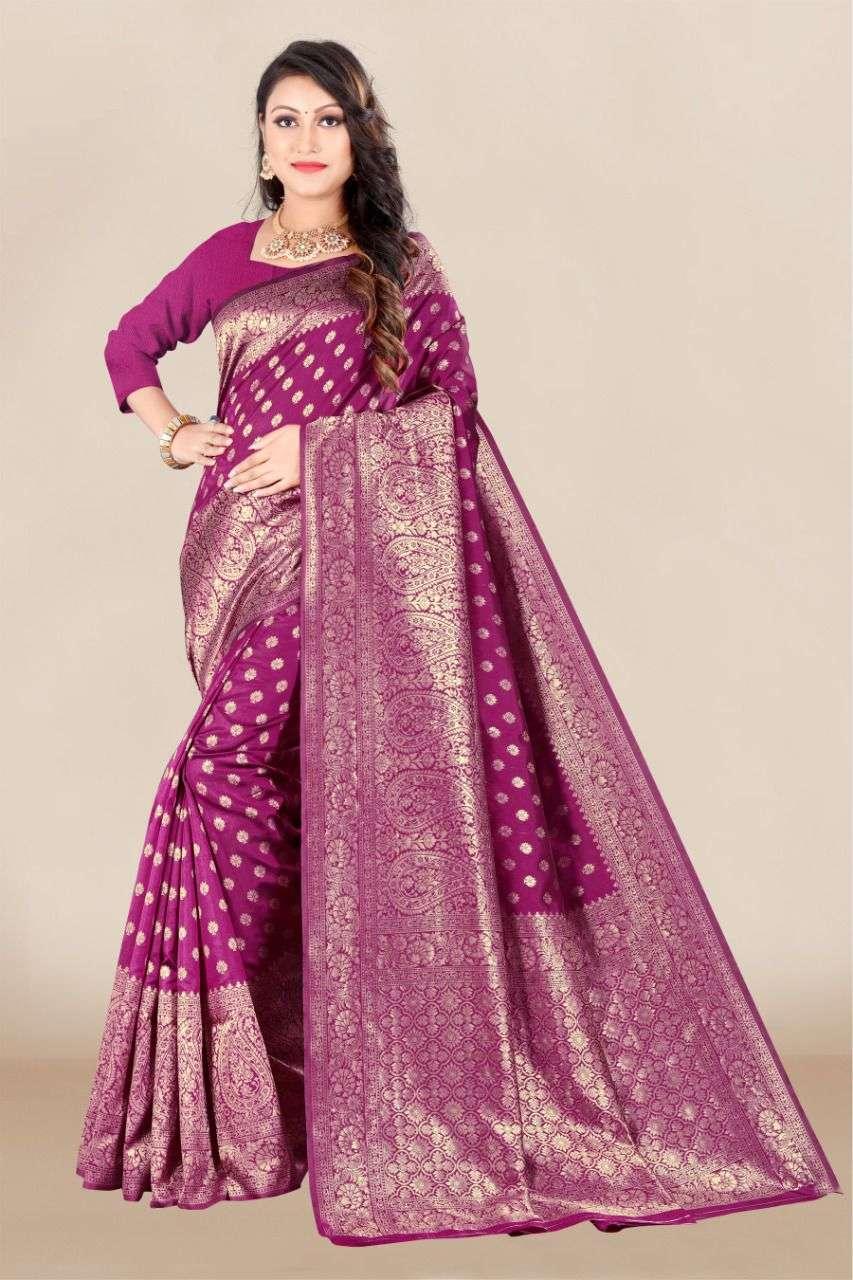 Vairagee Pavitra Vol  8  Banarasi Silk Saree Catalog Wholesale Dealer