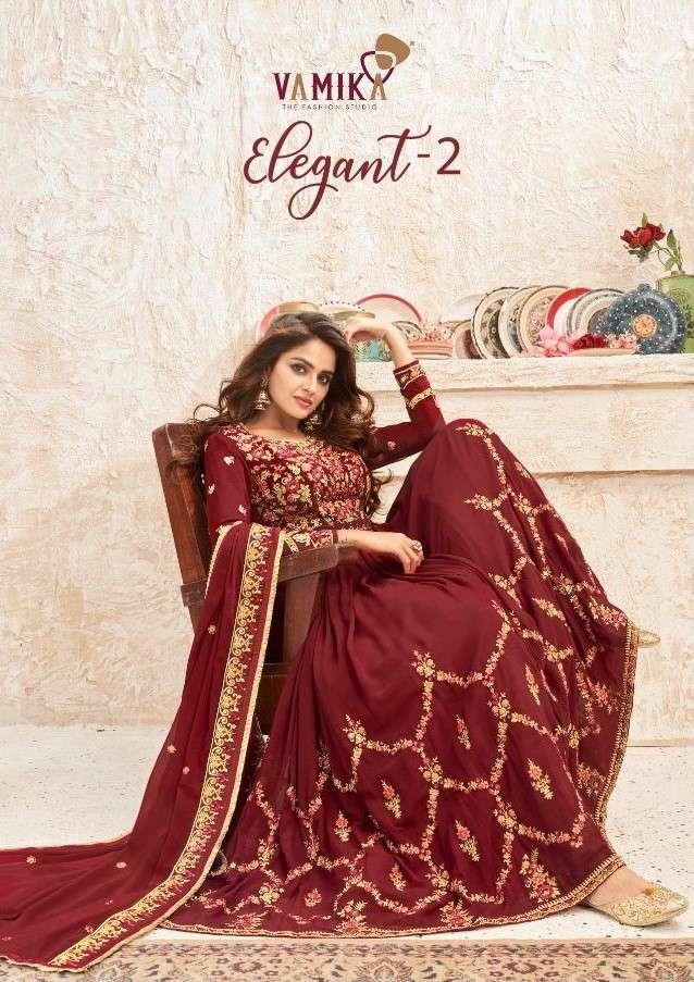 Vamika Elegant Vol 2 Exclusive Anarkali Readymade Salwar Suit catalog Wholesaler