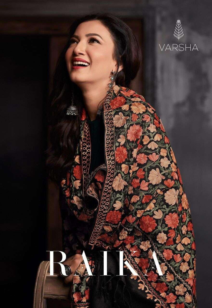 Varsha Fashion Raika Pure Pashmina Designer Ladies Suit Wholesale