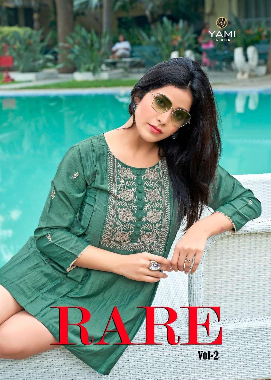 Yami Fashion Rare Vol 2 Stylish Chinon Short Tops New Catalog Supplier