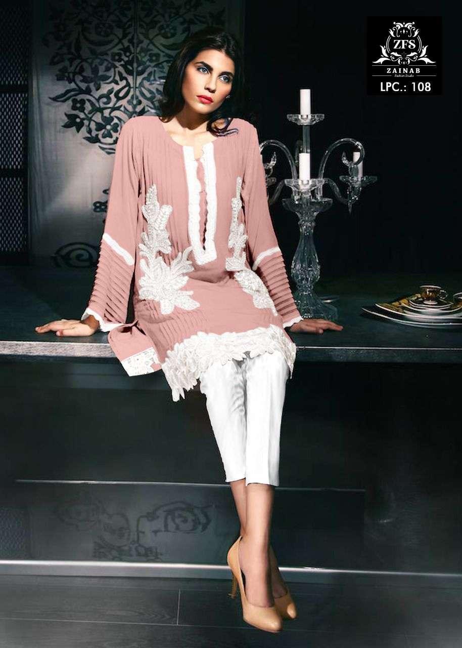 Zainab Fashion Studio LPC Vol 108 Readymade Kurti Bottom Set catalog Wholesaler