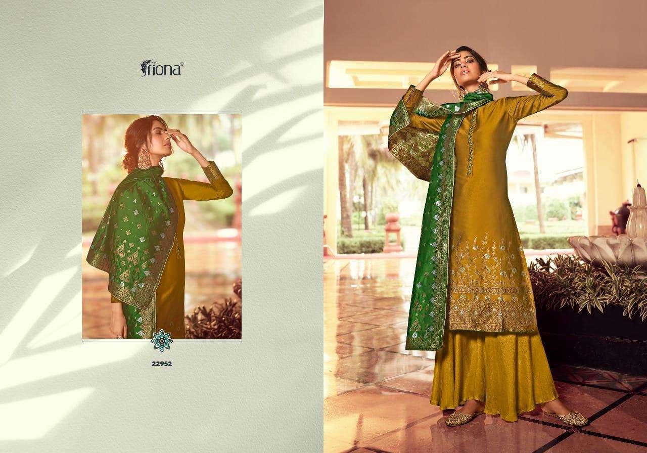 Fiona Gulzar Stylish Latest SIlk Salwar Dress Wholesaler
