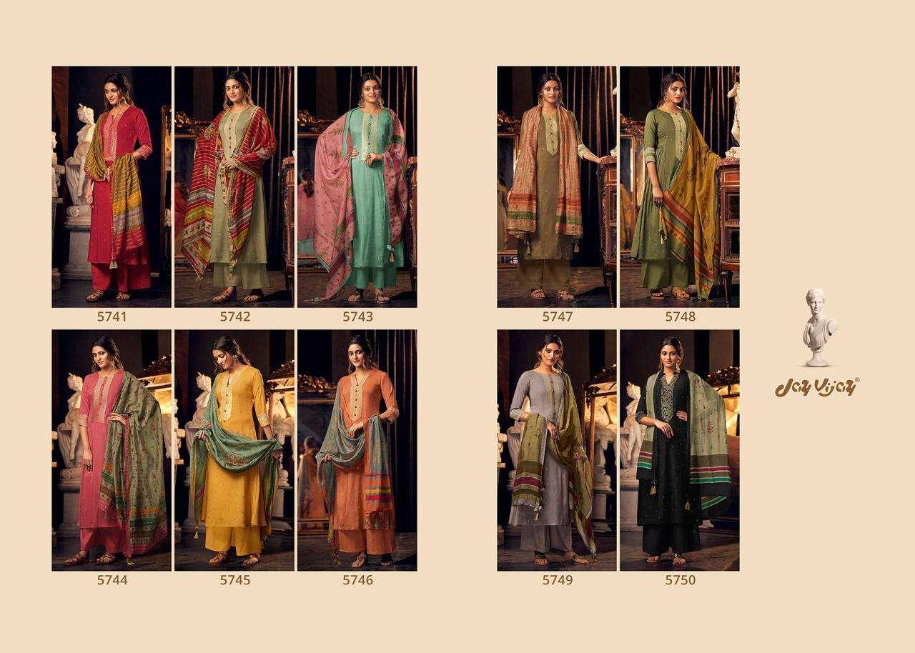 Jay Vijay Lumiere Silk Partywear Designer Salwar Kameez