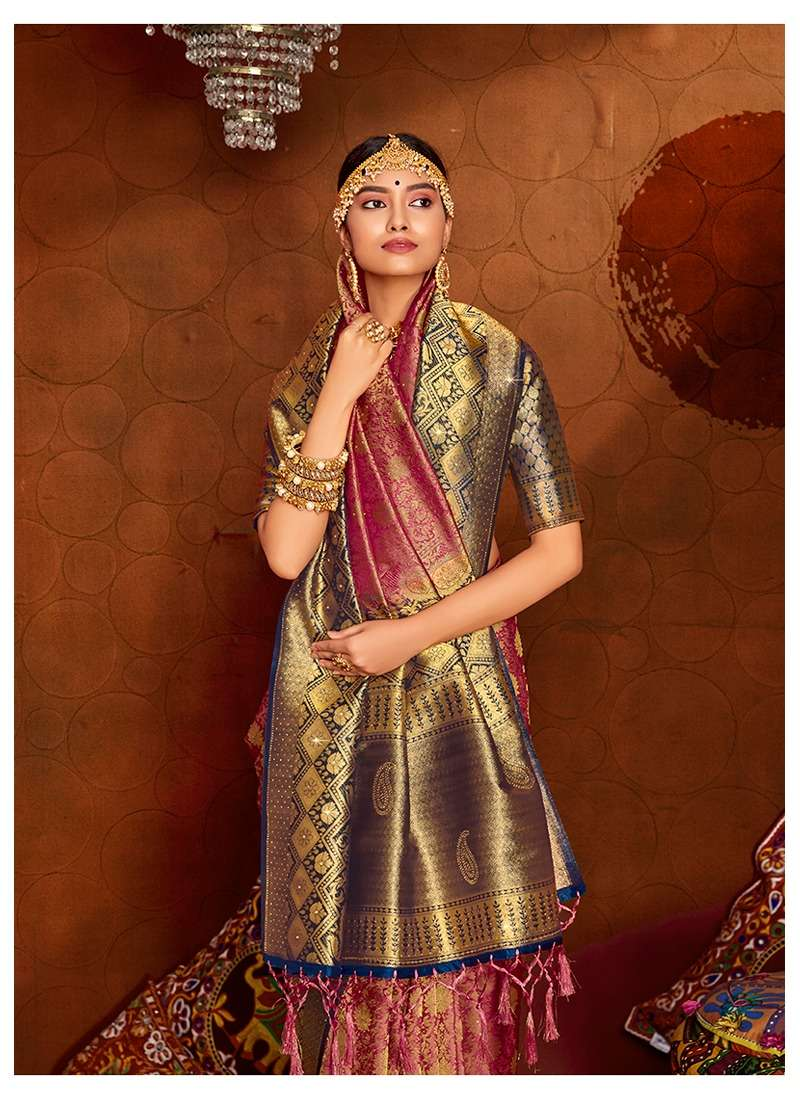 Lifestyle Ananya Nylon Silk Designer Fancy Sarees