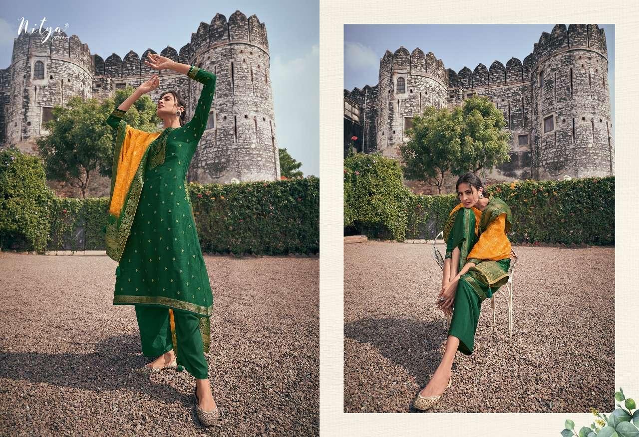 LT Nitya Saiyra Dola Jacquard Silk SAlwar Kameez Dealer