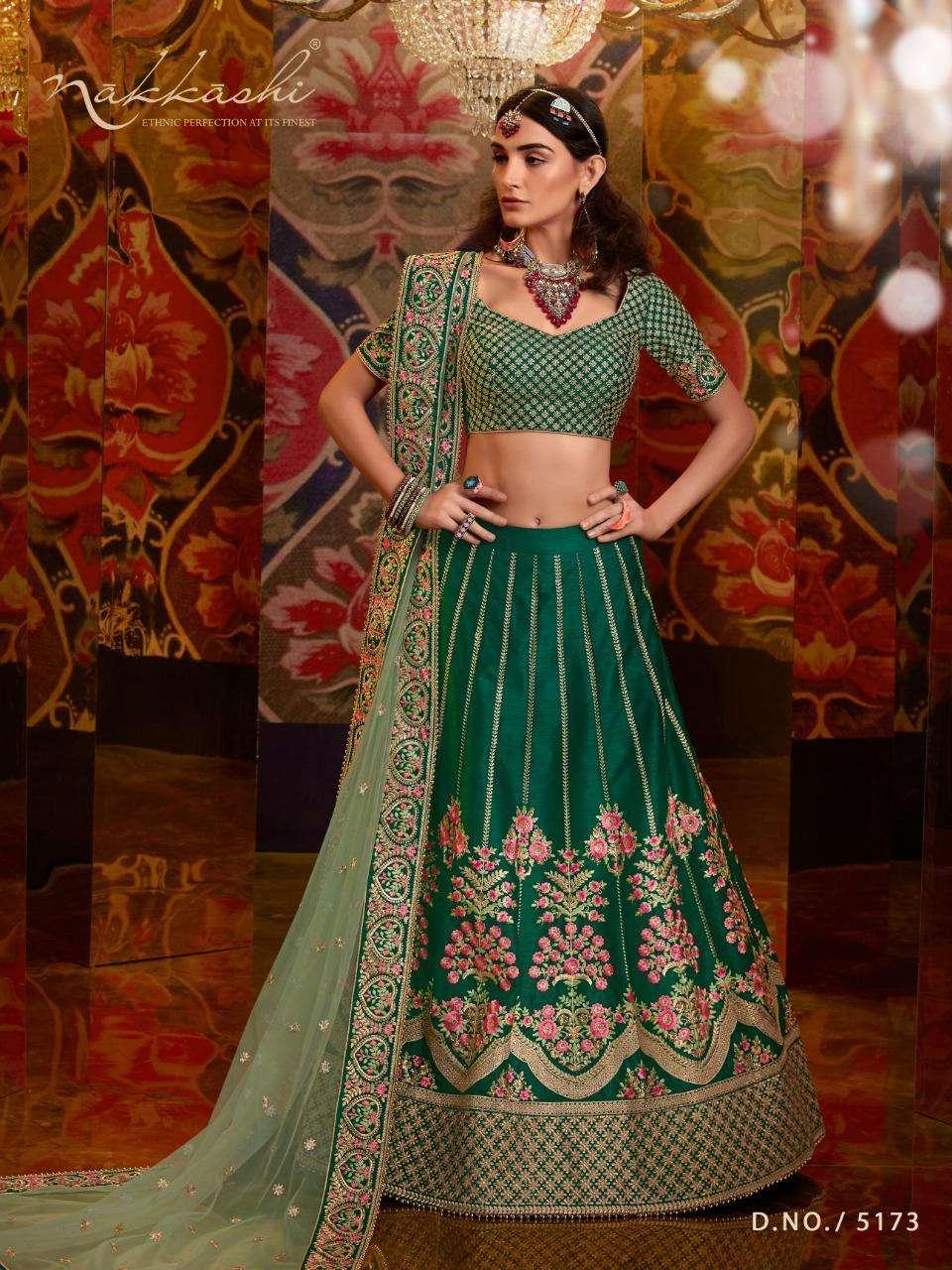 Nakkashi Jashn 5173-5182 Designer Exclusive Lehenga In Wholesale