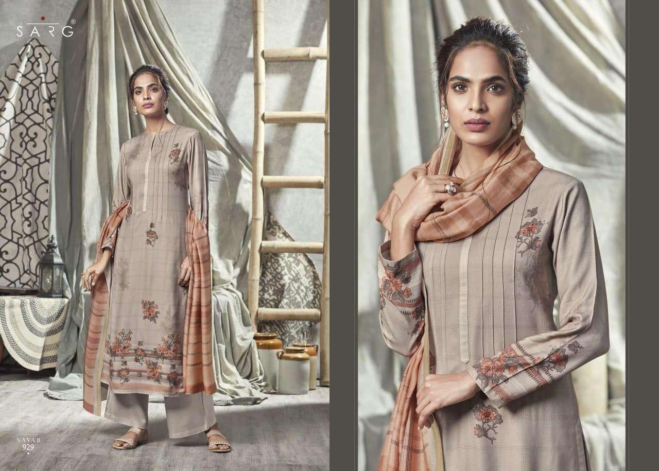 Sarg Nayab Wholesale Cotton Suits Exporter In Surat