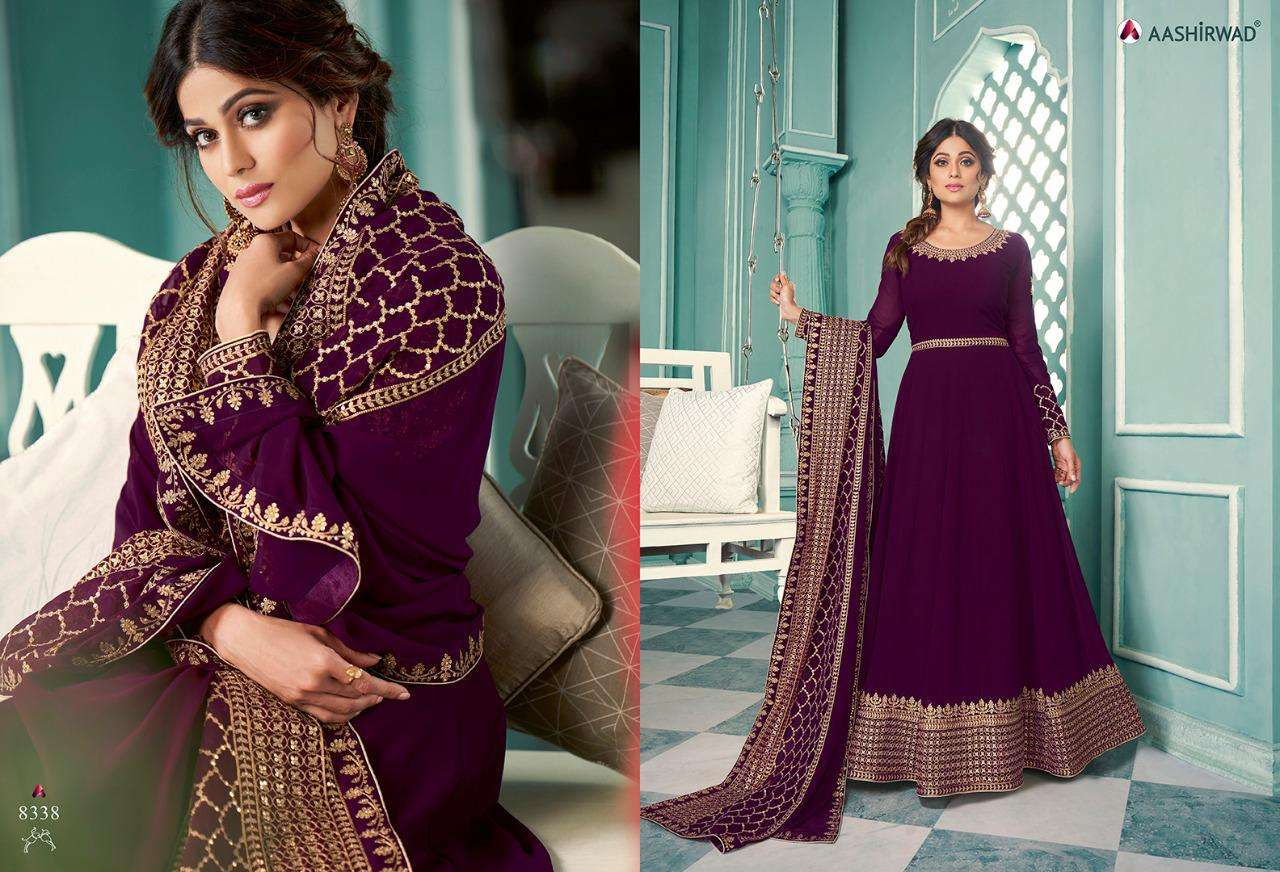 Aashirwad Samaira Designer Anarkali Salwar Suit Catalog Supplier