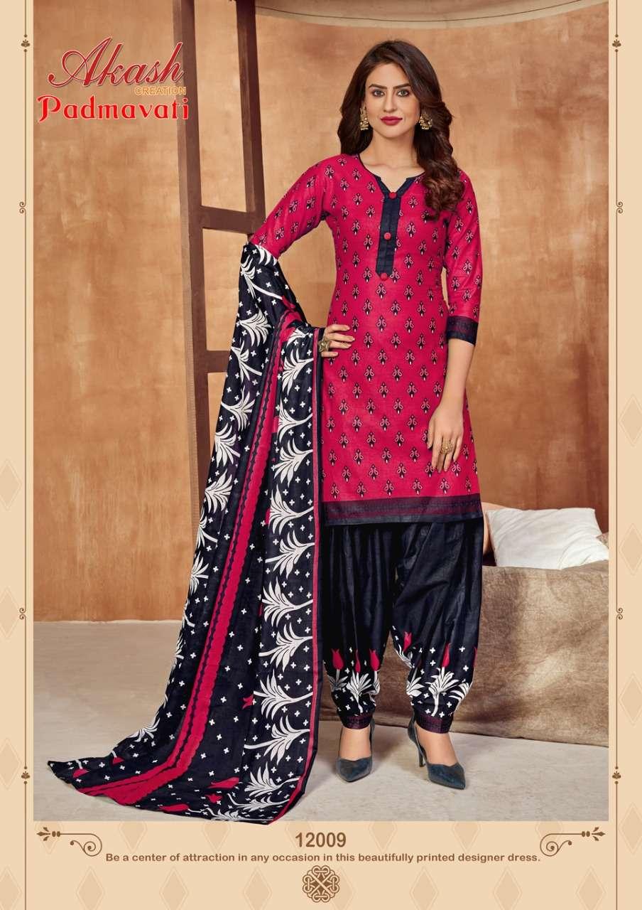 Akash Creation Padmavati Vol 12 Cotton Printed Suits