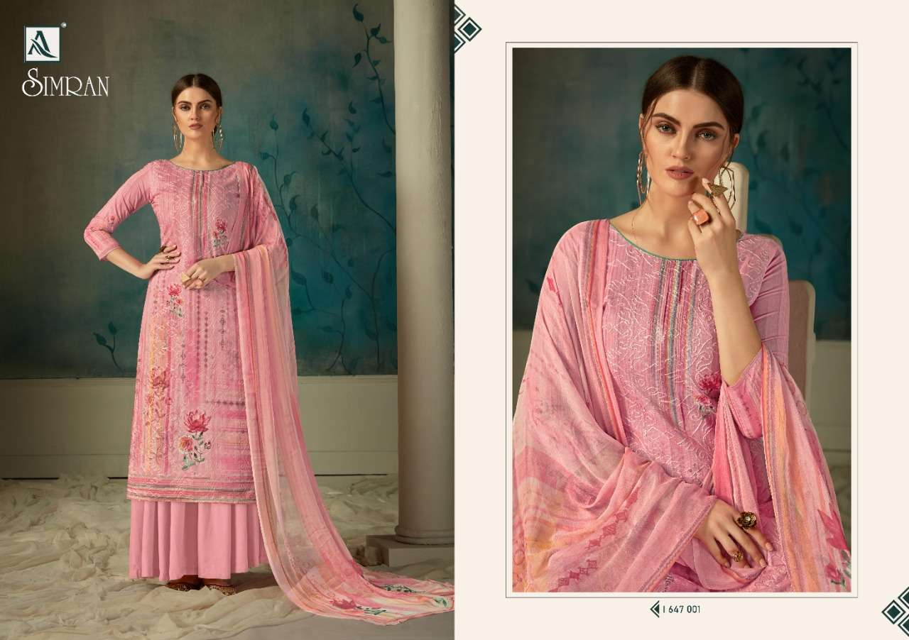 Alok Simran Digital Print Cotton Suit Catalog at Discounted Price