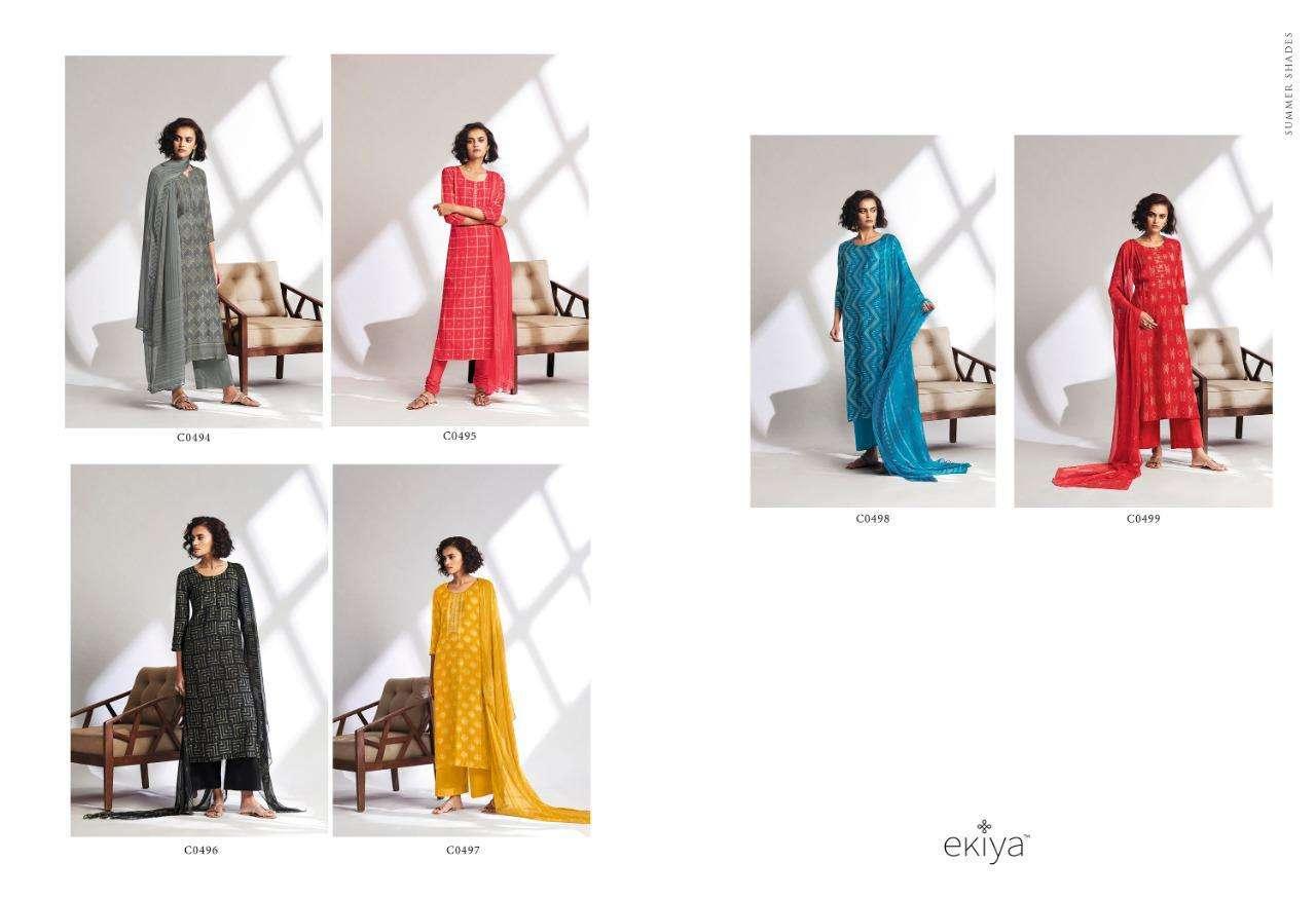 Ekiya Summer Shades By Ganga Pure Lawn Suits Dealer