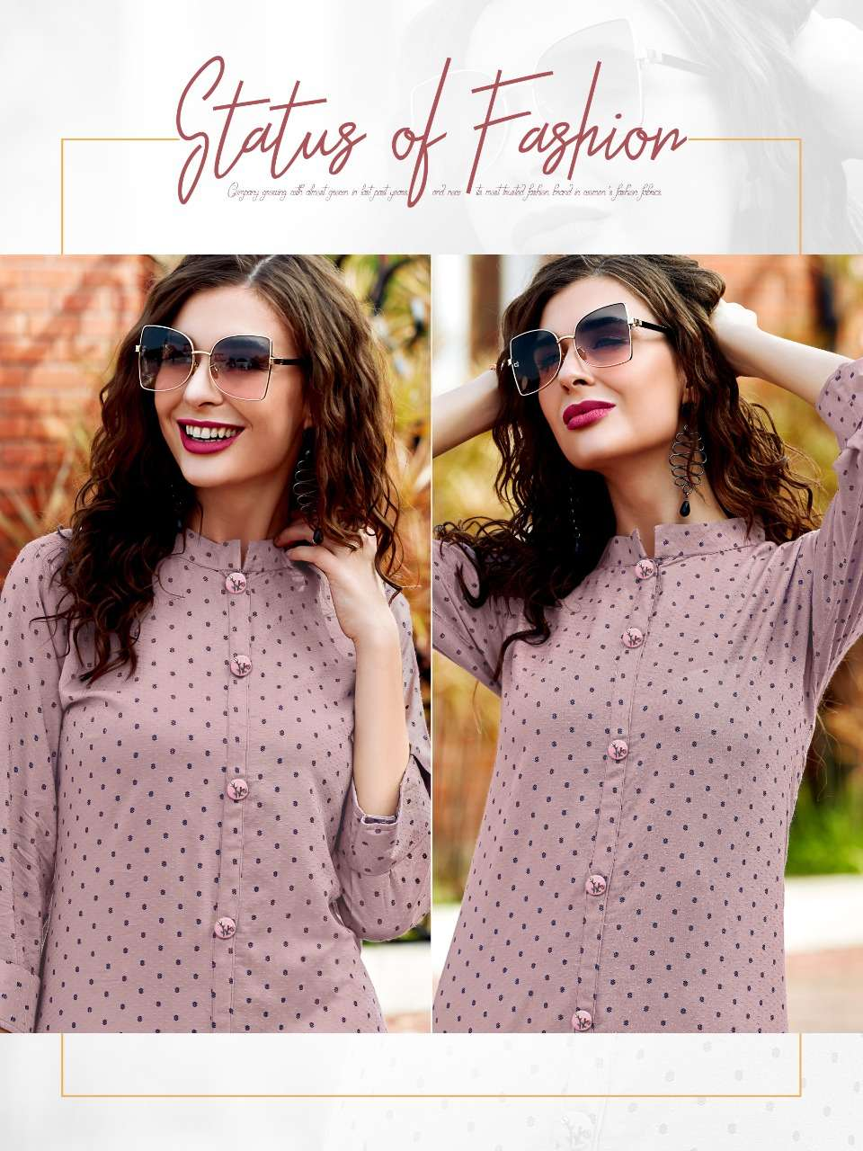 Ladies Falvour Decent NX Fancy Rayon Kurti Catalog dealer