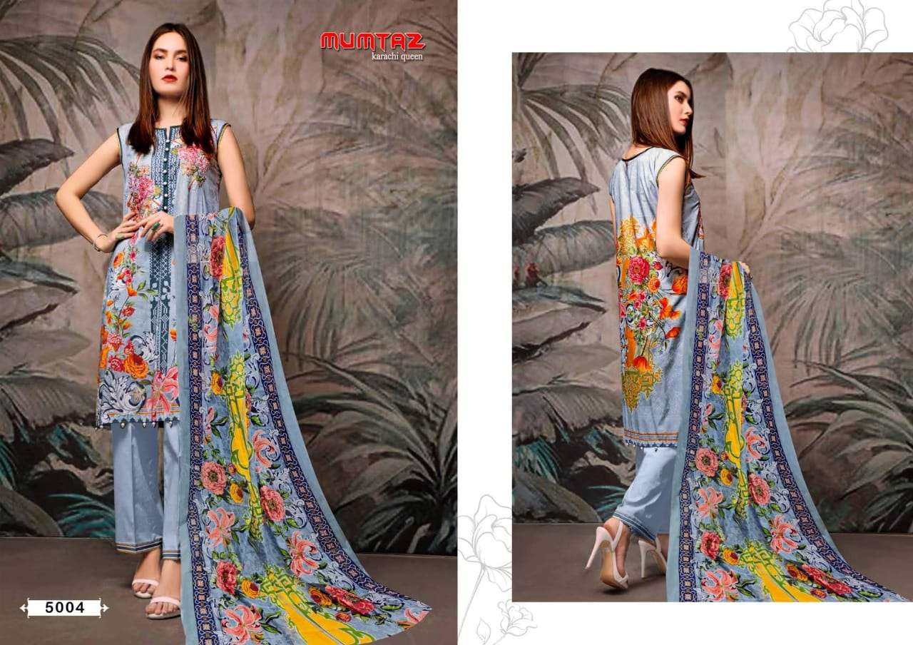 Madhav Mumtaz Karachi Queen Vol 5 Cotton Suits