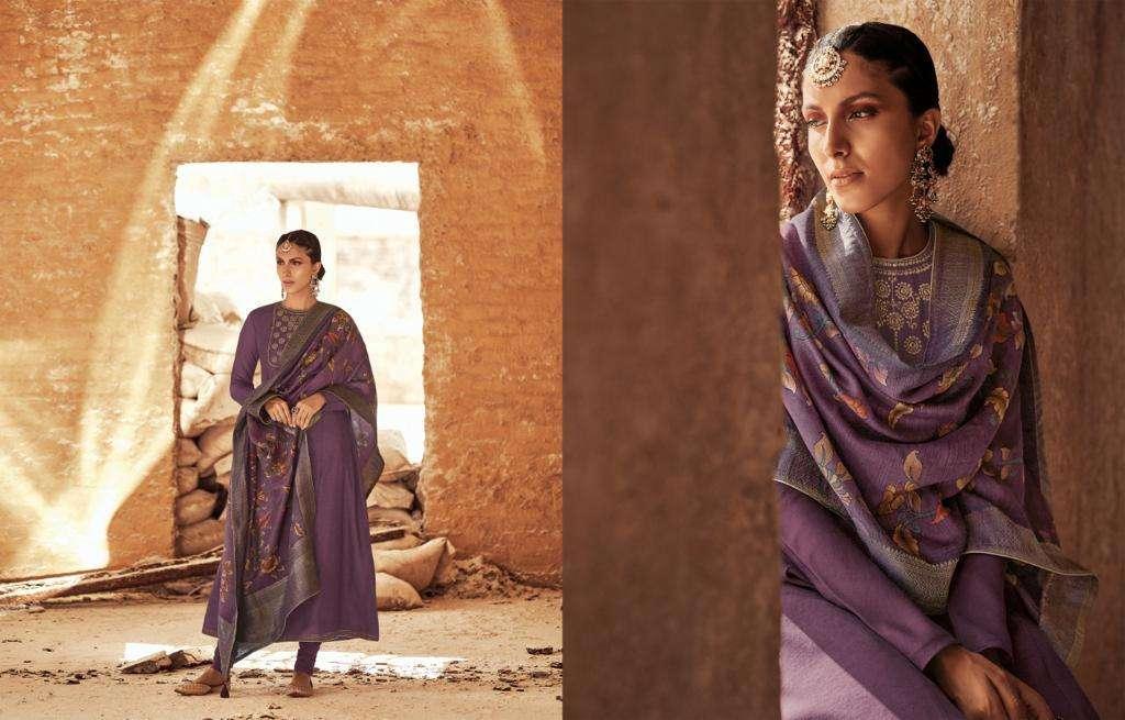 Varsha Fashion Irth Tusser Satin Exclusive Designer Suits