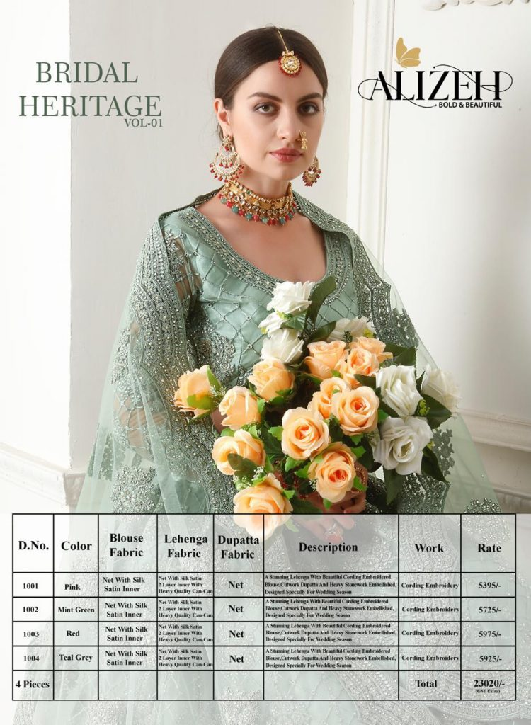 Alizeh Bridal Heritage Vol 1 Heavy Designer Bridal Lehenga Collection in Wholesale - Alizeh Bridal Heritage Vol 1 Heavy Designer Bridal Lehenga Collection In Wholesale 29 750x1024 - Alizeh Bridal Heritage Vol 1 Heavy Designer Bridal Lehenga Collection in Wholesale Alizeh Bridal Heritage Vol 1 Heavy Designer Bridal Lehenga Collection in Wholesale - Alizeh Bridal Heritage Vol 1 Heavy Designer Bridal Lehenga Collection In Wholesale 29 750x1024 - Alizeh Bridal Heritage Vol 1 Heavy Designer Bridal Lehenga Collection in Wholesale