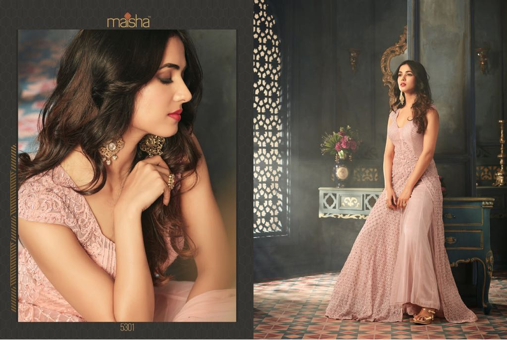 Maisha Tihor 5301-5308 Series Designer party wear gown cayalog in wholesale