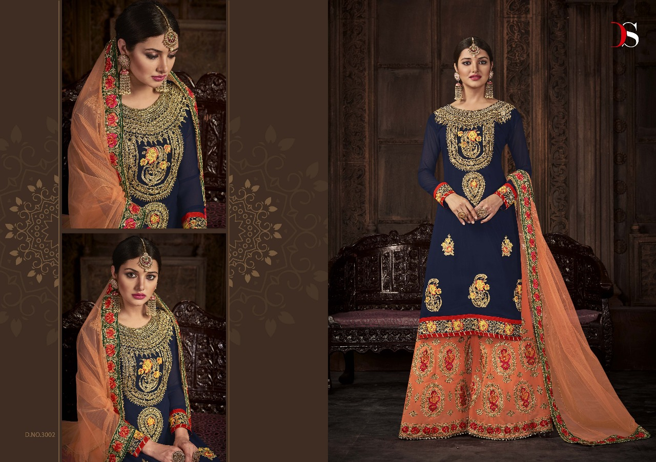 Deepsy suit Dulhan vol 3 Heavy work party wear salwar suit Wholesale