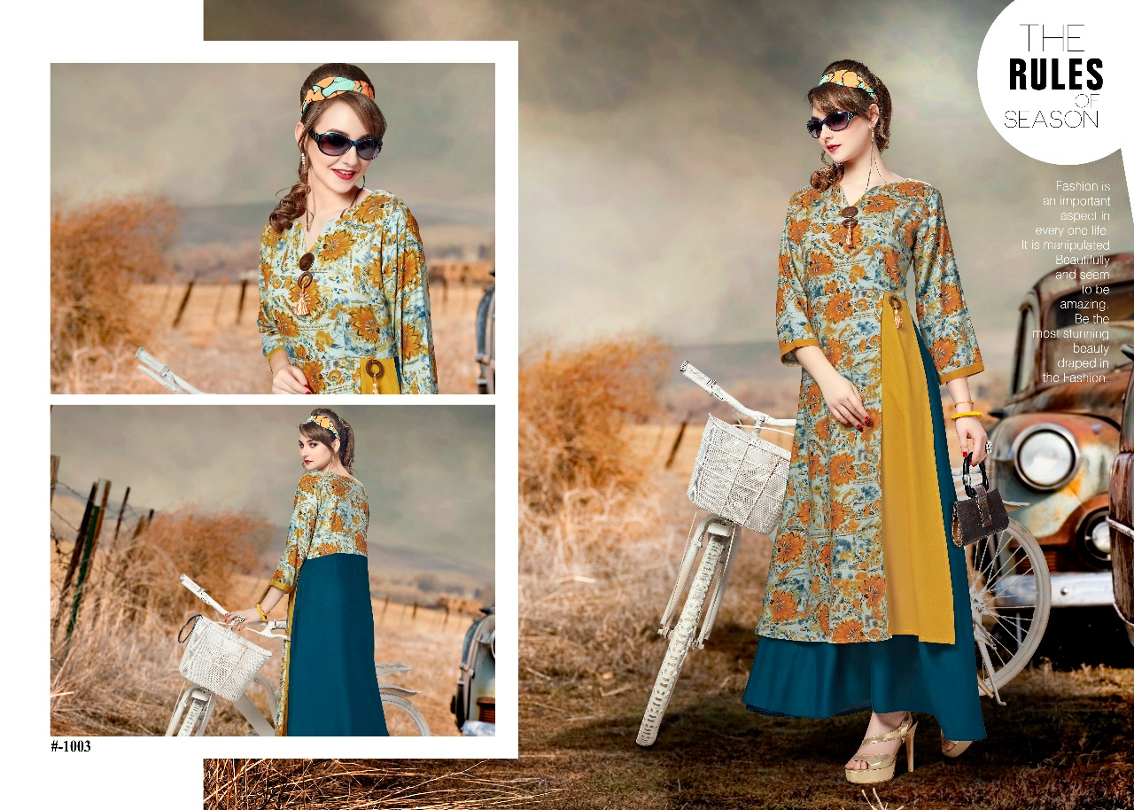 Osian designer Shivani vol 1 Designer Kurtis collection wholesaler