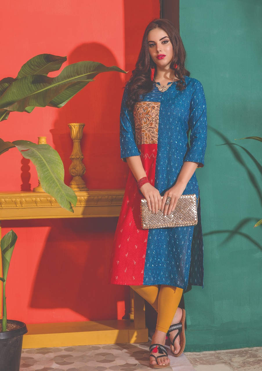 S4U by shivali Kantha Exclusive Summer Collectoon of Kurtis New Catalog Wholesale price Surat