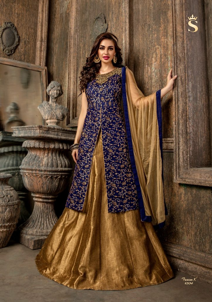 - IMG 20180514 WA0351 722x1024 - S4U by shivali Fusion X Readymade designer indowestern catalog in wholesale rate surat buy online  - IMG 20180514 WA0351 722x1024 - S4U by shivali Fusion X Readymade designer indowestern catalog in wholesale rate surat buy online