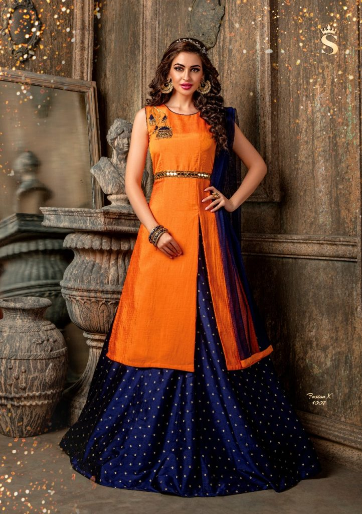 - IMG 20180514 WA0352 722x1024 - S4U by shivali Fusion X Readymade designer indowestern catalog in wholesale rate surat buy online  - IMG 20180514 WA0352 722x1024 - S4U by shivali Fusion X Readymade designer indowestern catalog in wholesale rate surat buy online