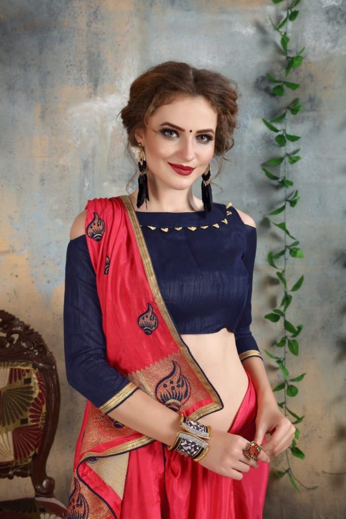 - IMG 20180521 WA0003 683x1024 - Nari fashion queen party wear saree catalog buy from surat Wholesaler at best price  - IMG 20180521 WA0003 683x1024 - Nari fashion queen party wear saree catalog buy from surat Wholesaler at best price