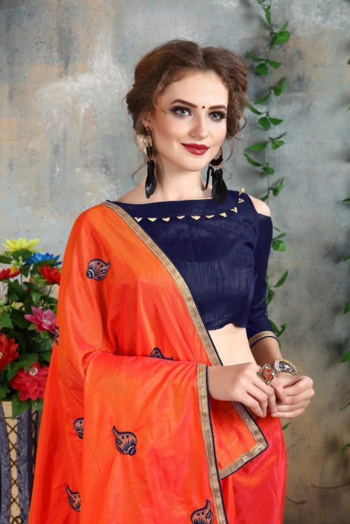 - IMG 20180521 WA0005 683x1024 - Nari fashion queen party wear saree catalog buy from surat Wholesaler at best price  - IMG 20180521 WA0005 683x1024 - Nari fashion queen party wear saree catalog buy from surat Wholesaler at best price