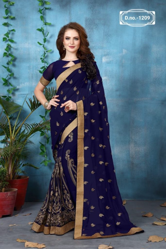 - IMG 20180521 WA0009 683x1024 - Nari fashion queen party wear saree catalog buy from surat Wholesaler at best price  - IMG 20180521 WA0009 683x1024 - Nari fashion queen party wear saree catalog buy from surat Wholesaler at best price