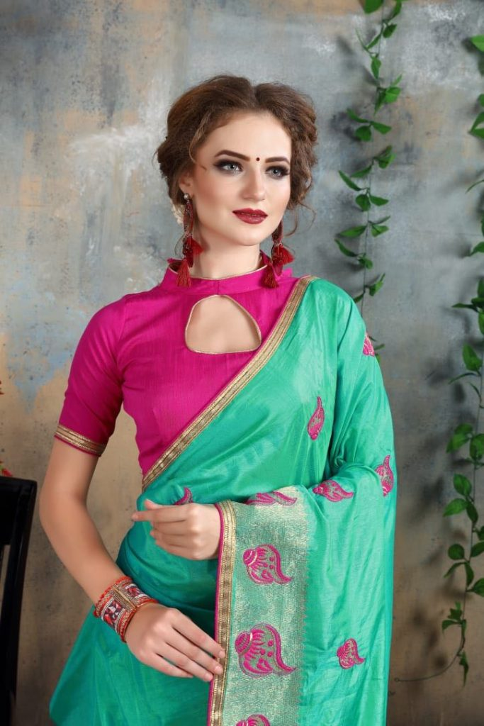 - IMG 20180521 WA0013 683x1024 - Nari fashion queen party wear saree catalog buy from surat Wholesaler at best price  - IMG 20180521 WA0013 683x1024 - Nari fashion queen party wear saree catalog buy from surat Wholesaler at best price