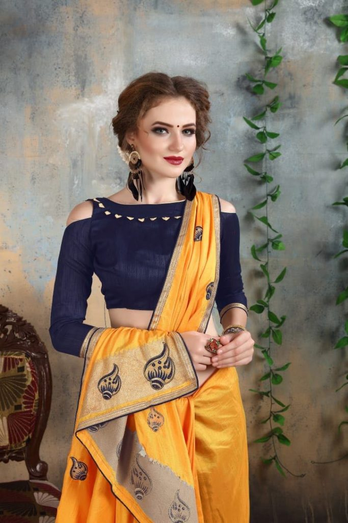 - IMG 20180521 WA0017 683x1024 - Nari fashion queen party wear saree catalog buy from surat Wholesaler at best price  - IMG 20180521 WA0017 683x1024 - Nari fashion queen party wear saree catalog buy from surat Wholesaler at best price