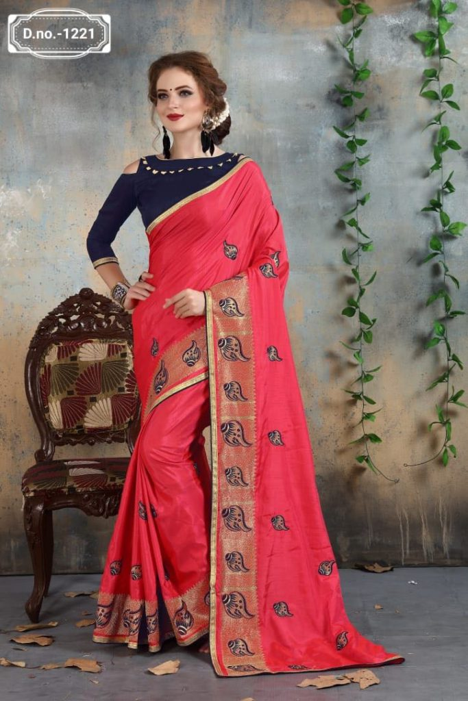 - IMG 20180521 WA0020 683x1024 - Nari fashion queen party wear saree catalog buy from surat Wholesaler at best price  - IMG 20180521 WA0020 683x1024 - Nari fashion queen party wear saree catalog buy from surat Wholesaler at best price