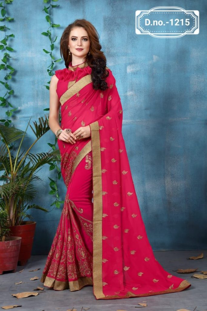 - IMG 20180521 WA0021 683x1024 - Nari fashion queen party wear saree catalog buy from surat Wholesaler at best price  - IMG 20180521 WA0021 683x1024 - Nari fashion queen party wear saree catalog buy from surat Wholesaler at best price