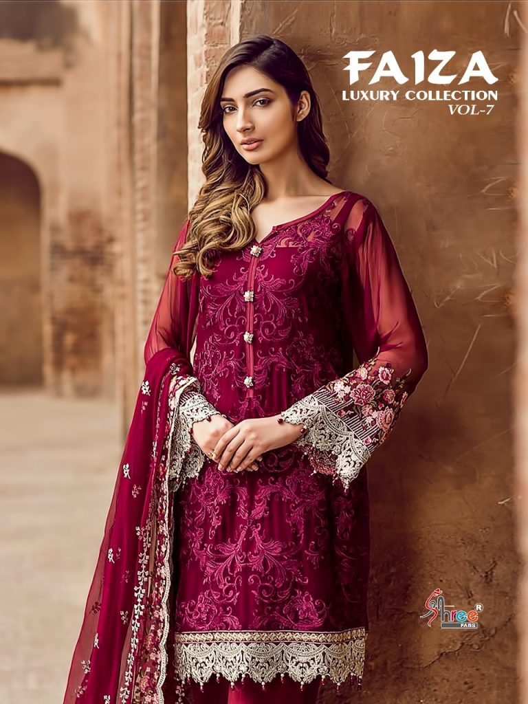 - IMG 20180521 WA0609 768x1024 - Shree fabs Faiza luxury collection vol 7 party wear pakistani suit wholesale price surat  - IMG 20180521 WA0609 768x1024 - Shree fabs Faiza luxury collection vol 7 party wear pakistani suit wholesale price surat